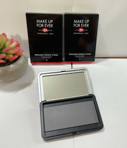 NEW Lot of 2  Make Up For Ever Artist Color Metal magnetic Refillable Palette XL