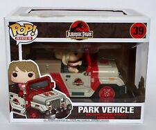 Jurassic Park Jeep Vehicle Funko Pop Vinyl Rides 39 New Sealed