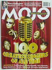 100 Greatest Singers Mojo Music Magazine Lennon Aretha Franklin October 1998!!