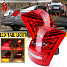 LED Rad Tail Lights Rear Lamps For Benz W221 S450 S550 S600 S Class 2005-2009
