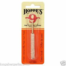 HOPPES CLEANING COTTON SWAB BRUSH .17 REM 17 HMR RIFLE BORE CLEANER CLEAN GUN