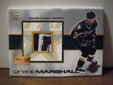 2000-01 Crown Royale Game-Worn Jersey Patches #10 Grant Marshall SN 055/144