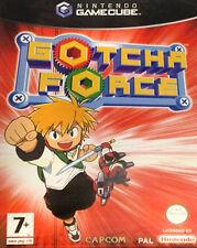 Gotcha Force Nintendo Gamecube GBC VIDEOGIOCO VERSIONE UK