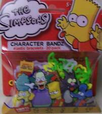 The Simpsons Kids Series 3 Logo Silly Bandz Pack(20)