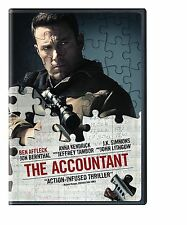 DVD -The Accountant (2016) NEW* Drama, Thriller, Crime* FAST SHIPPING !