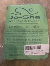 Bean Products Josha Yoga Mat & Personal Care Wipes Natural Essential Scents Made