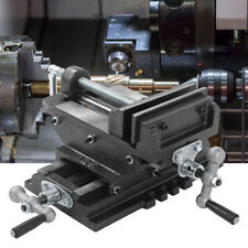 125mm Maschinenschraubstock Kreuztisch Schraubstock für Tischbohrmaschine 5