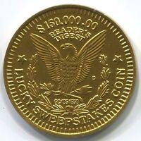A026a Reader's Digest Lucky Sweepstakes, $150,000 aluminum coin token 35mm