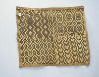 African Kuba Cloth Natural Woven Raffia Zaire Kuba Cloth