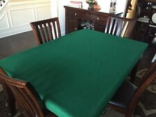Felt poker table cover for BIG rectangle Texas Hold Em' Tablecloth bonnet  -FS