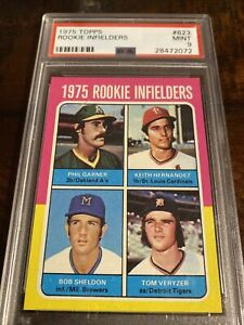 1975 Topps Keith Hernandez ROOKIE RC #623 PSA 9 MINT