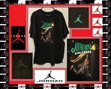 Nike Discontinued Air Jordan King of the Skies Black T-shirt  Sz 2XL XXL