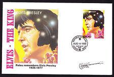 Palau Elvis Presley Famous Singer Vocals Vocalist Popular Music FDC Cover 1992