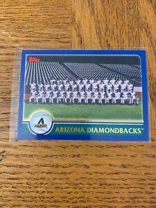Topps 631 Diamondbacks De L'Arizona Carte