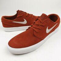 Nike Mens SB Zoom Air Janoski RM Skate Shoes Brown Tan Size 9 NEW