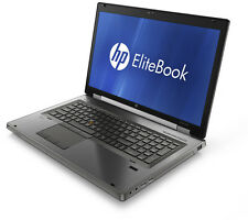 "HP EliteBook 8570w 15.6"" Laptop PC i7-3820QM 256GB SSD 16GB RAM Windows 10 Pro"