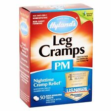 Hylands Leg Cramps PM  Night time Cramp Relief (50 tablets) w-quinine
