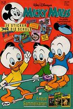 Micky Maus Heft Nr. 28 | 05.07.1990 | 36 Sticker | Walt Disney | Neu | MM26