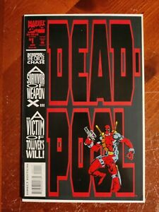 Marvel Comics Deadpool The Circle Chase #1 Comic Book