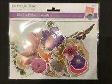 Paper Flower Die-cuts 30 pieces