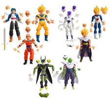 8Pcs Dragon ball Z GOKU Statue DBZ Figure Joint Movable Action Toys Super Saiyan