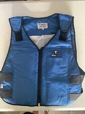 TechNiche TechKewl Phase Change Cooling Vest, L/Xl, Blue