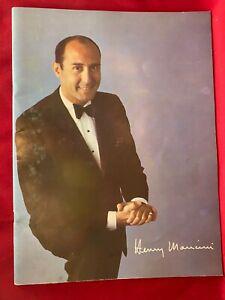 Henry Mancini 1965 Concert Souvenir Program Book