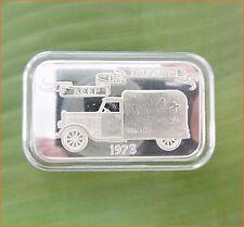 """1 Oz .999 Silver """"1973 KEEP ON TRUCKING"""" Mother Lode Mint  Art Bar D20"""