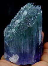 462gm Undamaged Etched Terminated V Shaped Natural Deep Purplish Kunzite Crystal