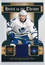 2011-12 CROWN ROYALE HEIRS TO THE THRONE NAZIM KADRI JERSEY 1 COLOR TORONTO