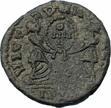 MAGNENTIUS 350AD Very Rare Half Centenionalis Lugdunum Ancient Roman Coin i65619