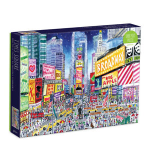 Michael Storrings ~ Times Square 1000 Piece Jigsaw Puzzle by Galison