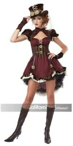 STEAMPUNK GIRL ADULT COSTUME XSMALL