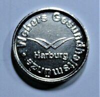 Medaille: WEBERS Gesundheits-Münze -1- HARBURG / bei Hamburg - st / unc.