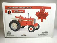 Scale Models IH Farmall 1206 Tractor 1/16 19th Ontario Toy Show 2004 SEALED
