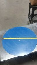 """Viton Rubber Gasket Material - 24"""" inch Disc x 1/8"""" - 1 piece Blue"""