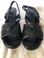 Womens Fanfare Black Sandals-7.5W