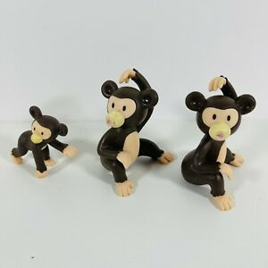 Deagostini My Zoo Animal Collection Figure Monkey Bundle
