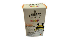 Zarbee's Naturals Baby Immune Support* & Vitamins Natural Orange Flavor, 2 Ounce