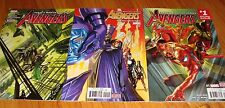 2016 The Avengers 1 2 3 1st Prints Mark Waid Mike Del Mundo