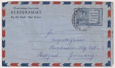 AUSTRALIA  1961: 10d Christmas aerogramme · genuine use to Germany (1424)