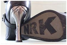 New Rock Stiefel Gr. 40 Malicia Stiefeletten schwarz mit Schnallen (#2486)