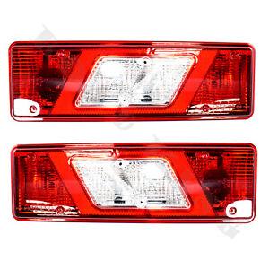 Satz Rücklicht Rückleuchte Heckleuchte Fur Ford Transit Tipper E-Prüfzeichen L+R
