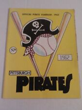 Vintage Original 1962 PITTSBURGH PIRATES Team Yearbook Forbes Field Rare ROBERTO