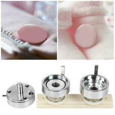 25mm/0.98in Diy Aluminum Alloy Interchangeable Die Mould round badge Mold kit