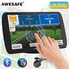 AWESAFE 9 zoll PKW LKW GPS Navigation Navigator FM mit Bluetooth Rückfahrkamera