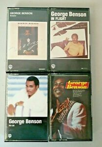 George Benson Music Cassette Tapes Bundle Of 4