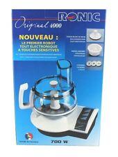 Ronic Original 4000 Küchenmaschine 700 Watt Mehrzweckmesser, Raspelscheibe, uvm.