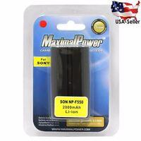 MaximalPower Battery For Sony NPF550 CyberShot CCD-TR87 DCR-TRV7 MVC-FD200