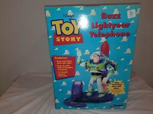 Pixar Toy Story 1995 Buzz Lightyear Telephone MIB